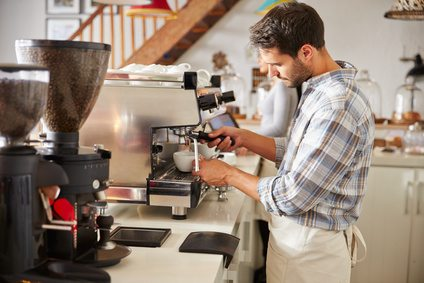 Safety Makers | Workplace Health and Safety | Using a commercial coffee machine Safe Work Procedure (SWP)