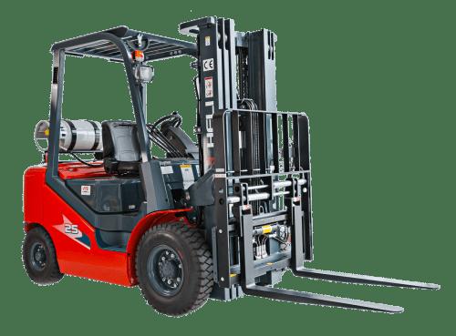 Forklift Pre-Start Checklist